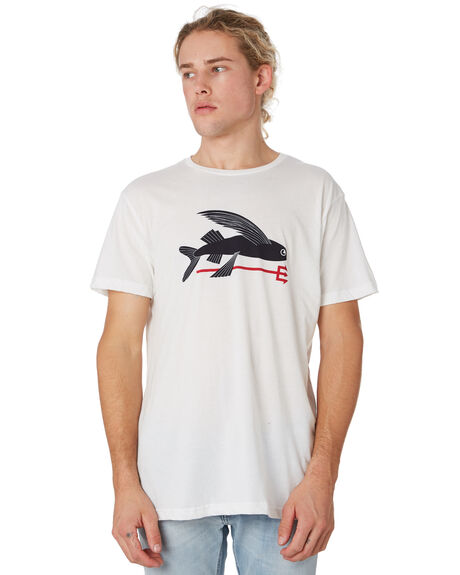 WHITE MENS CLOTHING PATAGONIA TEES - 39145WHI