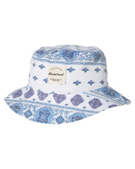 WHITE KIDS GIRLS RIP CURL HEADWEAR - JHABE11000