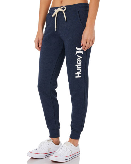 OBSIDIAN HEATHER WOMENS CLOTHING HURLEY PANTS - AGPTOC17H45B10A
