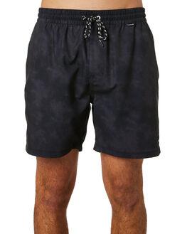 BLACK MENS CLOTHING HURLEY BOARDSHORTS - CJ5292010