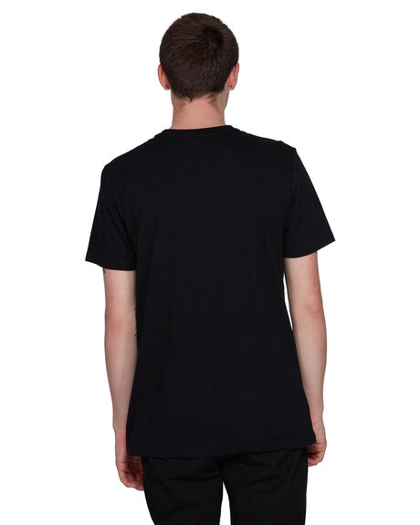 FLINT BLACK MENS CLOTHING ELEMENT TEES - EL-107004-IFL