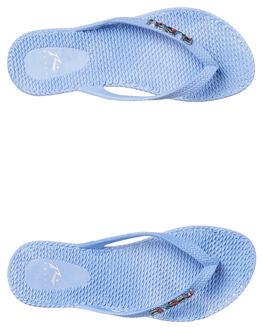 PALE SLATE WOMENS FOOTWEAR RUSTY THONGS - FOL0125PSU