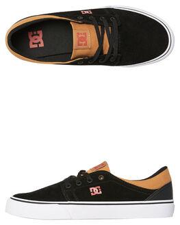 BLACK RED BLACK MENS FOOTWEAR DC SHOES SNEAKERS - ADYS300172XKRK