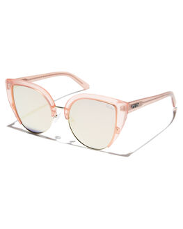 PINK GOLD WOMENS ACCESSORIES QUAY EYEWEAR SUNGLASSES - QW-000335-PKGLD