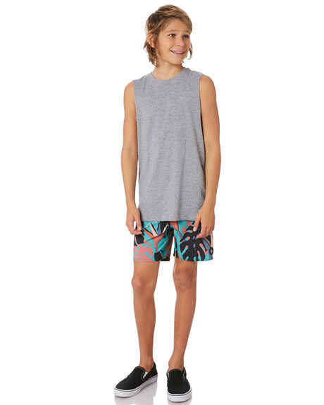 MYSTO GREEN KIDS BOYS VOLCOM BOARDSHORTS - C2512030MYS