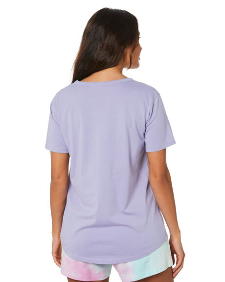 MAUVE WOMENS CLOTHING RPM TEES - 20SW01AMAV