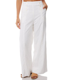 WHITE WOMENS CLOTHING TEE INK PANTS - CAST29AWHT