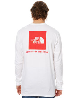 WHITE MENS CLOTHING THE NORTH FACE TEES - NF00CA0ERGX