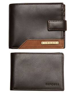 BLACK MENS ACCESSORIES RIP CURL WALLETS - BWLLA10090