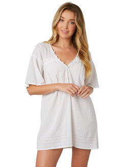 WHITE WOMENS CLOTHING INSIGHT DRESSES - 5000003269WHT