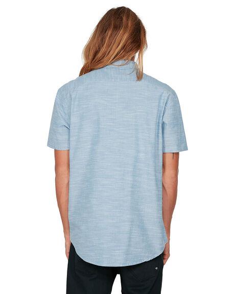 POWDER BLUE MENS CLOTHING BILLABONG SHIRTS - BB-9503200-P22