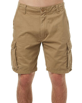 KHAKI MENS CLOTHING RUSTY SHORTS - WKM0816KHA