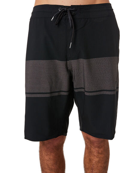 BLACK MENS CLOTHING VOLCOM BOARDSHORTS - A0811805BLK
