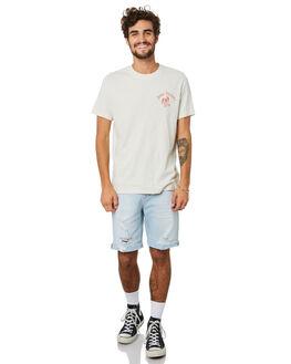 WHITE CHALK MENS CLOTHING DEUS EX MACHINA TEES - DMP201468WHCHK