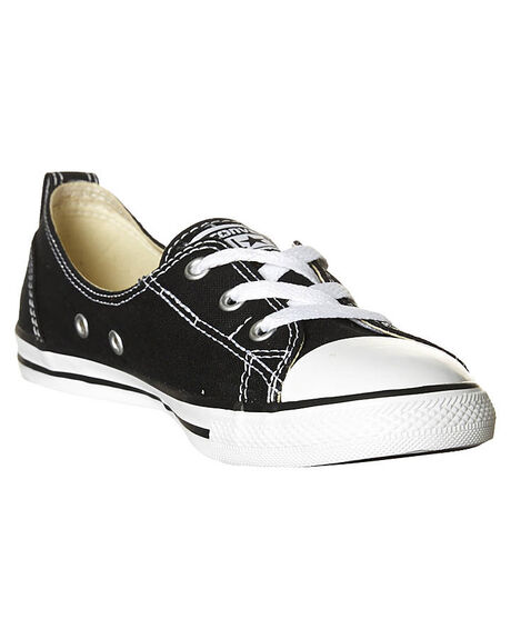BLACK WOMENS FOOTWEAR CONVERSE SNEAKERS - 547162BLK