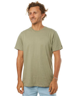 WASHED ARMY MENS CLOTHING VOLCOM TEES - A5011530WAR