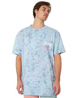 LAVENDER MENS CLOTHING STUSSY TEES - ST092105LAV