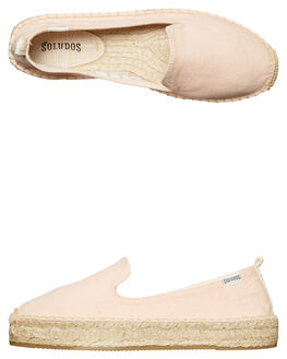 SOFT ROSE WOMENS FOOTWEAR SOLUDOS FLATS - 1000212683