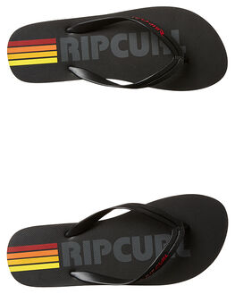BLACK MENS FOOTWEAR RIP CURL THONGS - TCTE360090