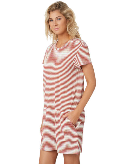 REDWOOD WOMENS CLOTHING RUSTY DRESSES - DRL1014RWD