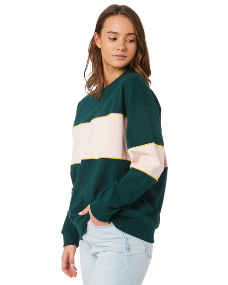 FOREST PETAL PINK WOMENS CLOTHING ALL ABOUT EVE JUMPERS - 6433057GRN