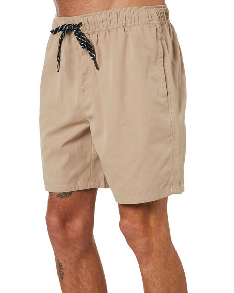 TAN MENS CLOTHING SWELL BOARDSHORTS - S5164231TAN