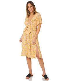 The Hidden Way Sandy Cove Tie Front Dress - Sandy Cove Floral   SurfStitch