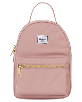 ASH ROSE WOMENS ACCESSORIES HERSCHEL SUPPLY CO BAGS + BACKPACKS - 10501-02077ASHRS