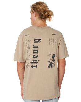 TAN MENS CLOTHING SILENT THEORY TEES - 4034007.TAN