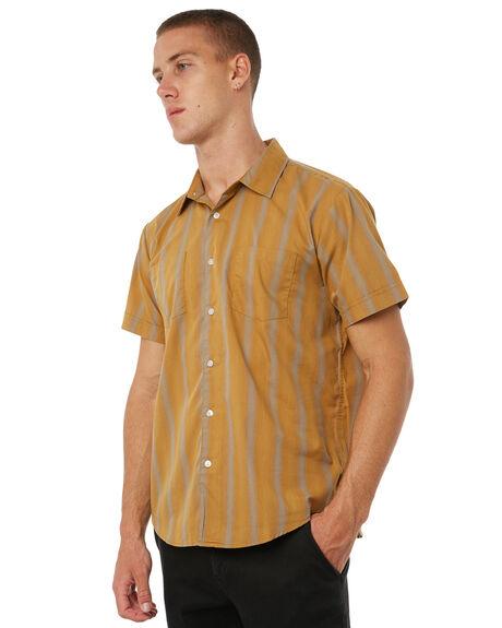 GOLDEN MENS CLOTHING BRIXTON SHIRTS - 02103GLDEN