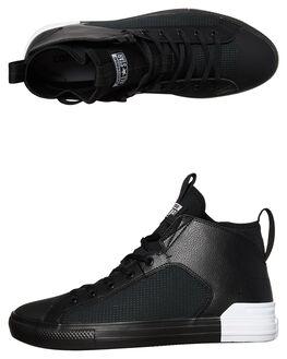 BLACK WHITE MENS FOOTWEAR CONVERSE SNEAKERS - 159627BLK