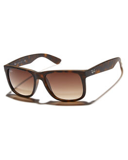 LIGHT HAVANA BROWN MENS ACCESSORIES RAY-BAN SUNGLASSES - 0RB41655571013