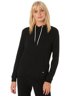 BLACK WOMENS CLOTHING VOLCOM JUMPERS - B3111801BLK