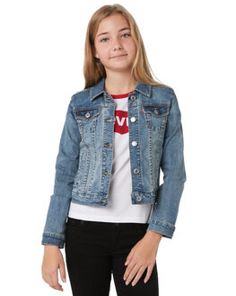 VINTAGE WATERS KIDS GIRLS LEVI'S JUMPERS + JACKETS - 36980-0004L10