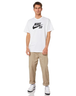 WHITE MENS CLOTHING NIKE TEES - CV7539100