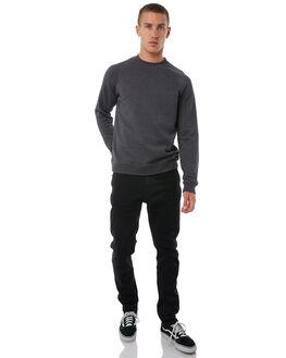 BLACK HEATHER MENS CLOTHING HURLEY JUMPERS - AJ2212032
