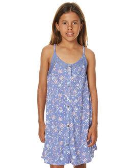 BLEACHED DENIM KIDS GIRLS ROXY DRESSES - ERGKD03044PMK6