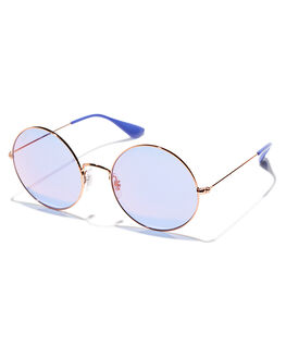 SHINY COP BLUE WOMENS ACCESSORIES RAY-BAN SUNGLASSES - 0RB35929035D1