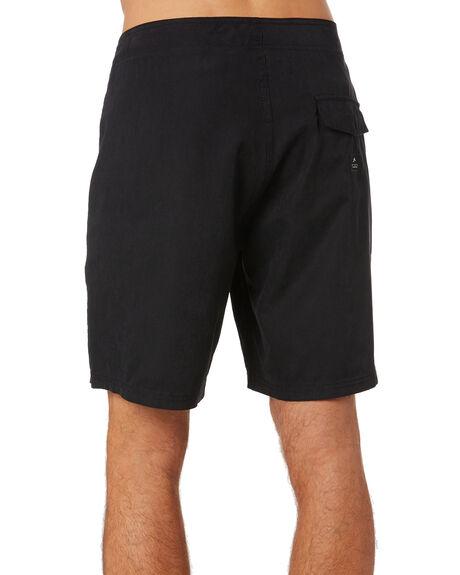 BLACK MENS CLOTHING RUSTY BOARDSHORTS - BSM1423BLK