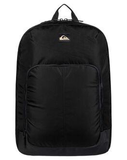 BLACK MENS ACCESSORIES QUIKSILVER BAGS + BACKPACKS - EQYBP03550-KVJ0