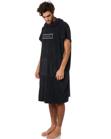 BLACK BOARDSPORTS SURF MODOM TOWELS - MOPONABLK