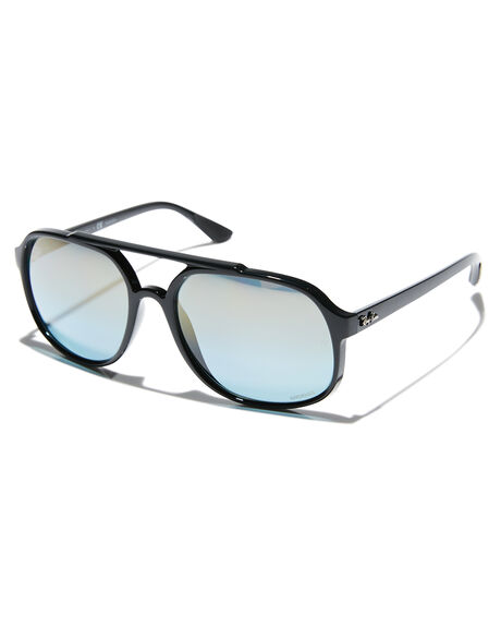 883d31b2fd BLACK BLUE MIRROR MENS ACCESSORIES RAY-BAN SUNGLASSES - 0RB4312CHBLKBM