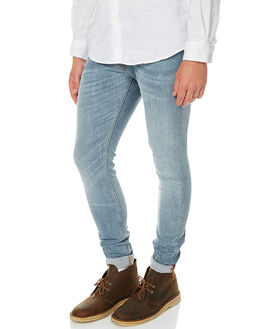 SCANDINAVIAN ICE MENS CLOTHING NUDIE JEANS CO JEANS - 112240SCICE
