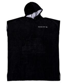 BLACK MENS ACCESSORIES QUIKSILVER TOWELS - EQYAA03712KVJ0