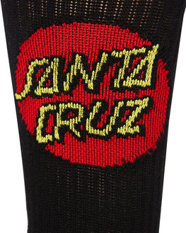 BLACK MENS CLOTHING SANTA CRUZ SOCKS + UNDERWEAR - SC-MZNC099BLK