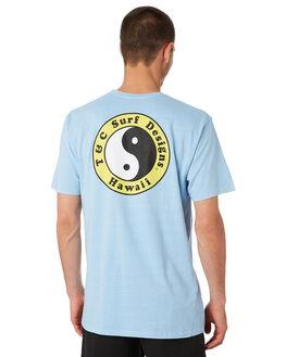 VINTAGE BLUE MENS CLOTHING TOWN AND COUNTRY TEES - TTE111HVINBL