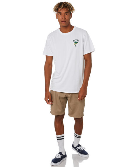 WHITE MENS CLOTHING DEPACTUS TEES - D5203005WHITE