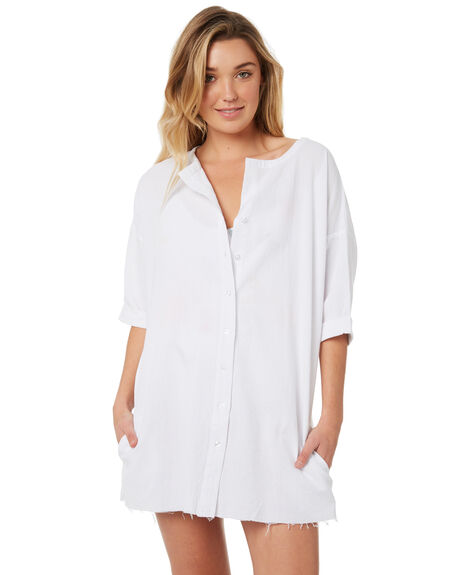 WHITE WOMENS CLOTHING SWELL FASHION TOPS - S8184170WHITE