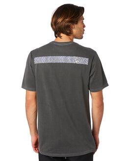 BLACK MENS CLOTHING VOLCOM TEES - A5211902BLK