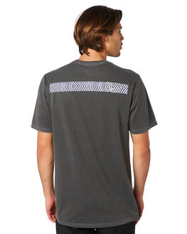 BLACK MENS CLOTHING VOLCOM TEES - A5211902BLK
